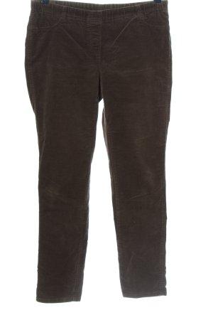 Biaggini Pantalone di velluto a coste marrone stile casual