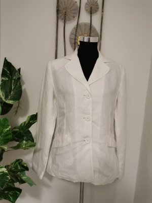 Biaggini Jersey Blazer white