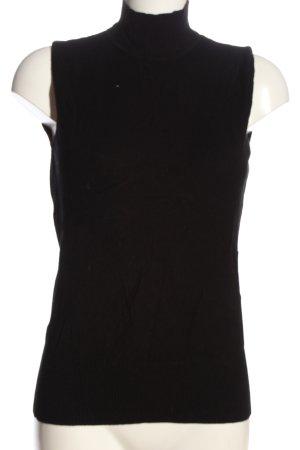 Biaggini Fijn gebreide cardigan zwart casual uitstraling