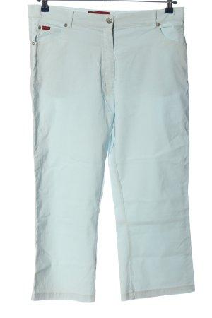 Biaggini Spodnie z pięcioma kieszeniami turkusowy W stylu casual