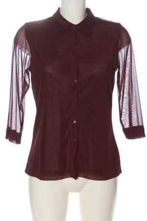 Biaggini Camicia blusa rosso stile casual