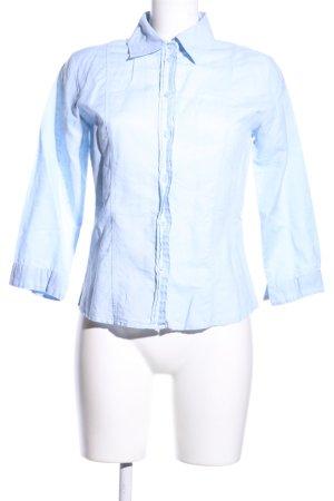 Biaggini Hemd-Bluse blau Business-Look