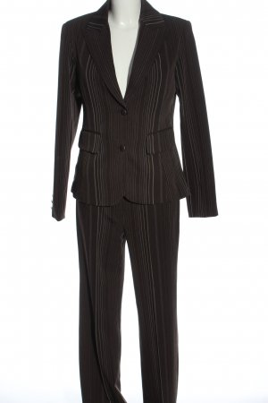 Biaggini Trouser Suit striped pattern business style