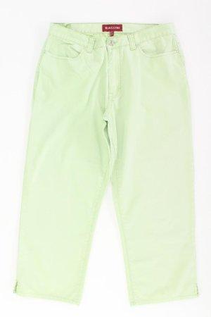 Biaggini Jeans Größe 42 grün aus Baumwolle