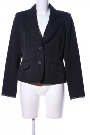 Biaggini Jerseyblazer schwarz Business-Look