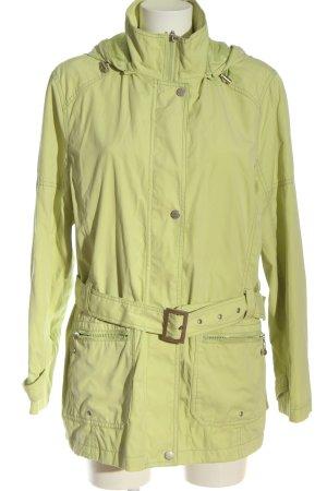 Biaggini Veste à capuche vert style décontracté