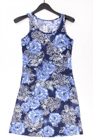 Biaggini Dress blue-neon blue-dark blue-azure polyester