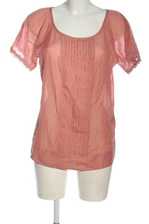 Biaggini Camicetta a maniche corte rosa stile casual