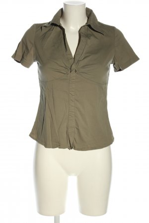 Biaggini Short Sleeved Blouse khaki business style