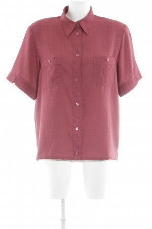 Biaggini Short Sleeved Blouse dark red '90s style