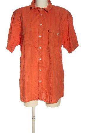Biaggini Shirt met korte mouwen licht Oranje casual uitstraling