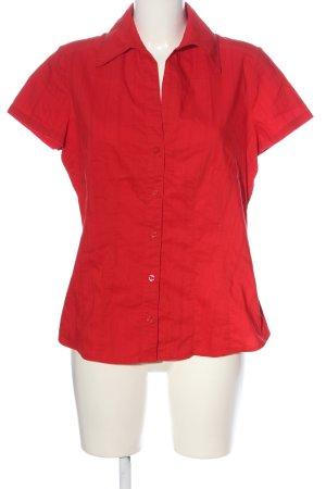 Biaggini Chemise à manches courtes rouge style décontracté
