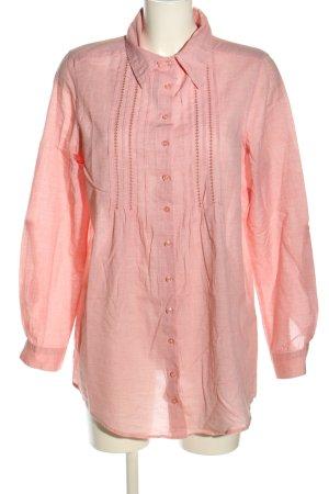 Biaggini Langarm-Bluse pink Business-Look