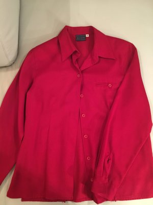 BIAGGINI Langarmbluse, Hemd, rot, Gr. 38,  guter Zustand
