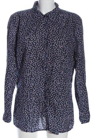 Biaggini Shirt met lange mouwen volledige print zakelijke stijl