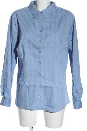 Biaggini Shirt met lange mouwen blauw zakelijke stijl