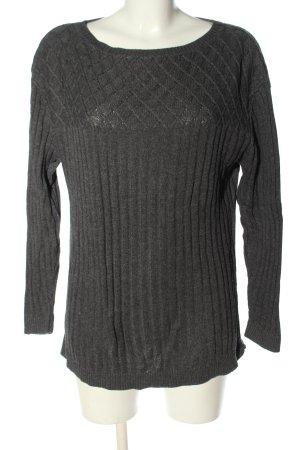 Biaggini Maglione girocollo grigio chiaro stile casual