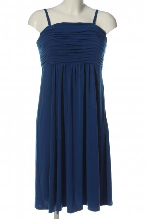 Biaggini Sukienka bez ramiączek niebieski Elegancki