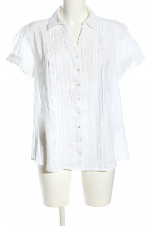 Biaggini Lace Blouse white business style