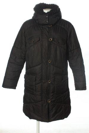 Biaggini Quilted Coat black casual look