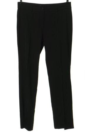 Biaggini Spodnie materiałowe czarny W stylu biznesowym