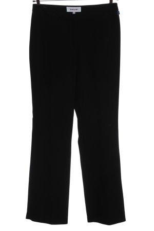 Biaggini Stoffen broek zwart zakelijke stijl