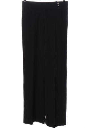 Biaggini Pantalon en jersey noir style d'affaires