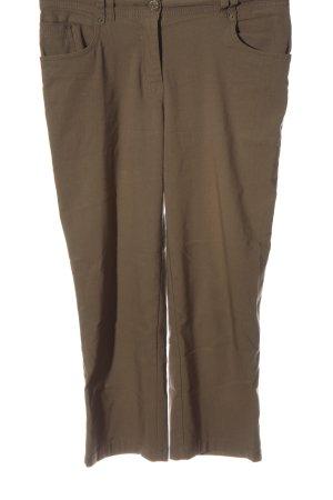 Biaggini Pantalon en jersey brun style décontracté