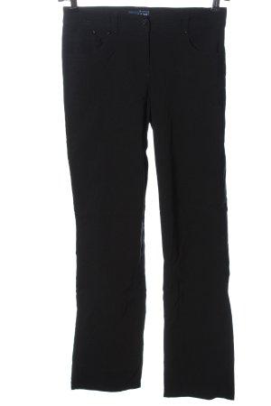 Biaggini Spodnie ze stretchu czarny W stylu casual