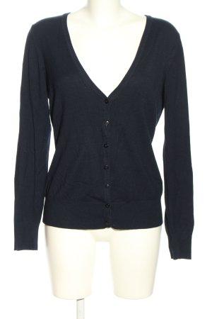 Biaggini Giacca in maglia nero stile casual