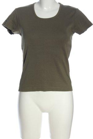 Biaggini T-shirt khaki W stylu casual