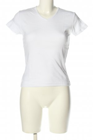 Biaggini T-shirt bianco stile casual
