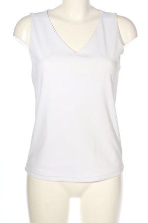 Biaggini Top na ramiączkach biały W stylu casual