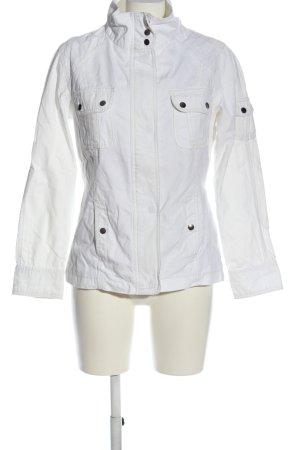 Biaggini Kurtka przejściowa biały W stylu casual