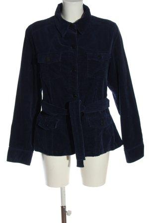 Biaggini Krótki płaszcz niebieski W stylu casual