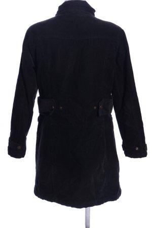 Biaggini Manteau mi-saison noir style décontracté