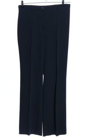 Bianca Pantalon blauw zakelijke stijl