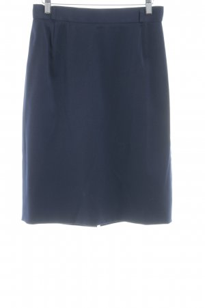 Bianca Pencil Skirt dark blue business style