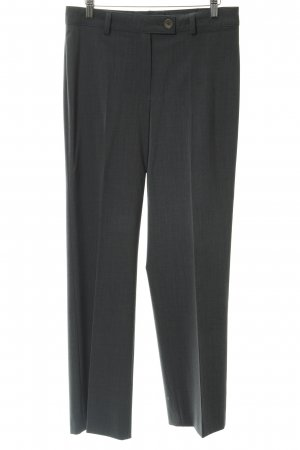 Bianca Pleated Trousers dark grey business style