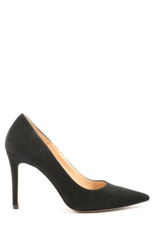 Bianca Di Spitse pumps zwart elegant