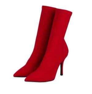 Bianca Di Slip-on laarzen rood