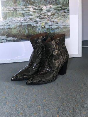 Bianca Di Stiefeletten Kroko Look hervorragend