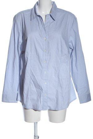 Bianca Hemd-Bluse blau-weiß Allover-Druck Business-Look