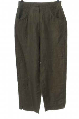 Bianca High Waist Trousers khaki casual look