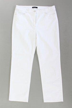 Bianca Hose Größe 44 weiß aus Baumwolle