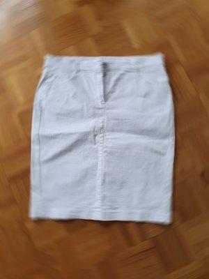 Bianca Denim Skirt white