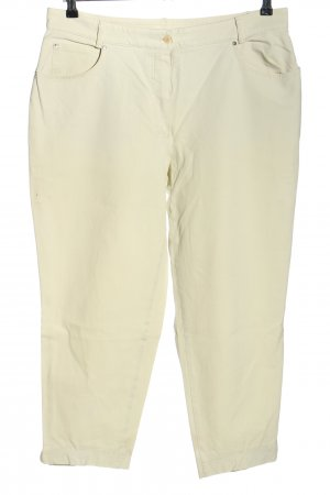 Bianca Jeans a carota bianco sporco stile casual