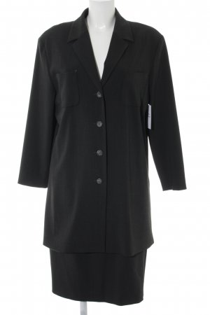 Bianca Ladies' Suit dark grey-grey business style
