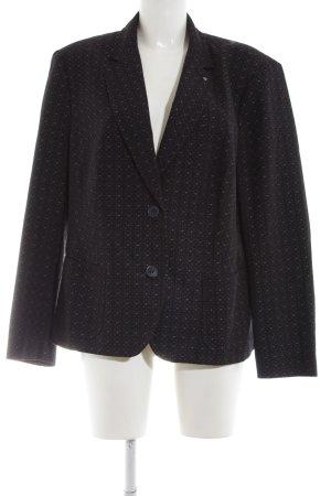 Bianca Short Blazer black spot pattern business style