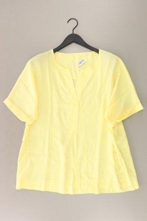 Bianca Blouse met korte mouwen geel-neongeel-limoen geel-donkergeel Viscose